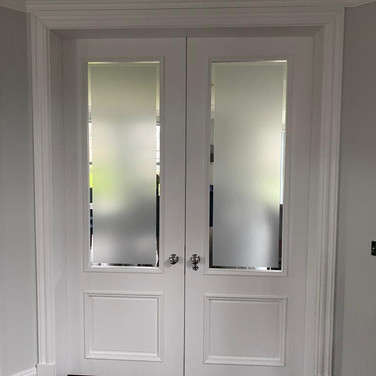 Oversized (8ft) 2 panel Bollection Double Doors