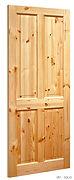 VR1 4 Panel Red Deal Door