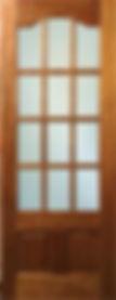 Mahogony Parklane 12 Panel Door