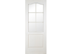 S6  Glazed Woodgrain Regency Door
