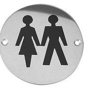 unisex bathroom symbol