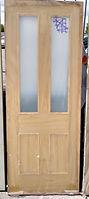 Oak 4panel Glazed Door
