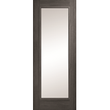Daiken 1 panel clear glass grey door
