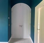Bespoke Curved Internal Door