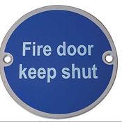 keep shut symbol