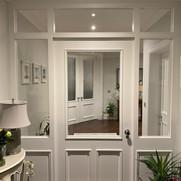 Oversized (8ft) Bespoke 3 panel Door with side and overhead panels