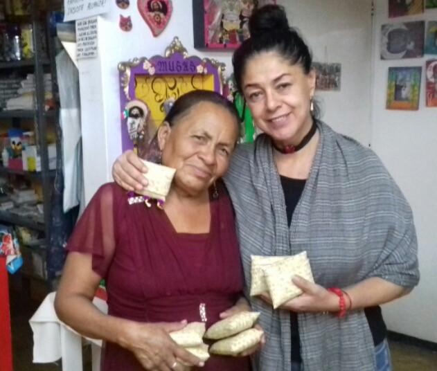 Mujeres fortaleciéndose, Susana y Tzopelli