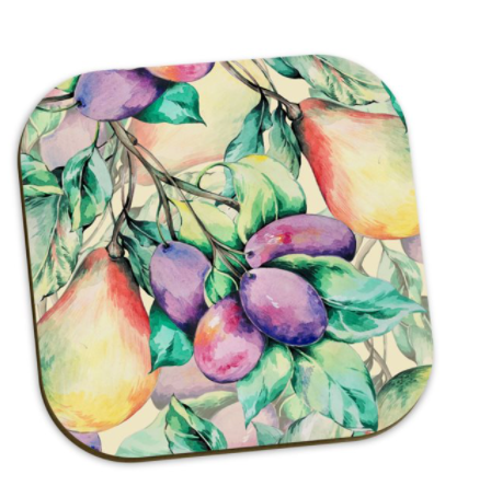 Esther Plum & Pear Coaster