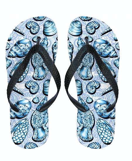 Mary Shelly Flip Flops