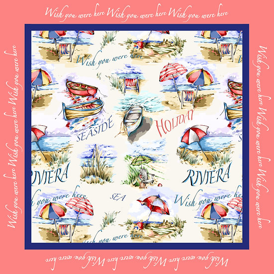 Afternoon at the Seaside Scarf