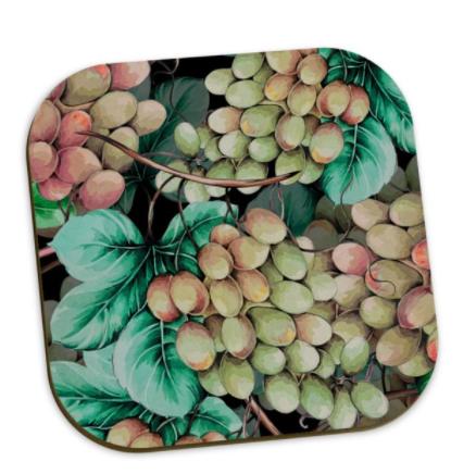 Ursula Grape Coaster