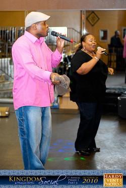 Performing at Kingdom Social