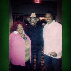 Comedian T-Ray and Raymond & Kim