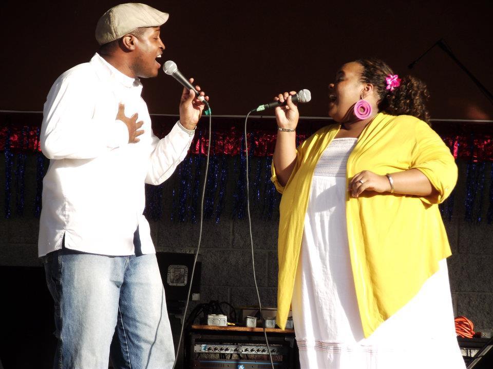 Performing at Dixie Classic Fair