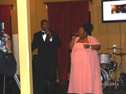 Performing at Playwrights Ball