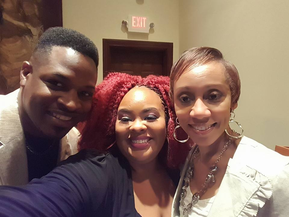 Comedienne Debra Terry and RLM