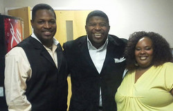 Comedian Rod Allison and RLM
