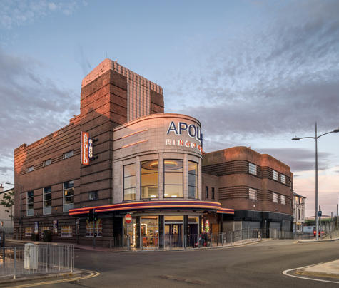 Former Odeon cinema, Rhyl (from Odeon Re