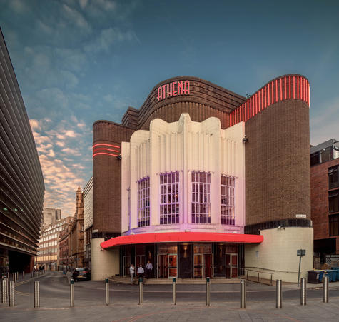 Former Odeon cinema, Leicester (from Ode