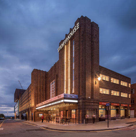 Former Odeon cinema, Chester (from Odeon