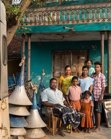 Sameer Raichur, 'Kuppan and family', January 2019, Chariots of frolic