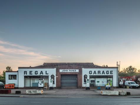 Regal Garage (from Filling Station Close