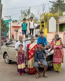 Sameer Raichur, 'Night, Day. Work. Play, (II) Mani and family', 18 January 2019, Chariots of frolic