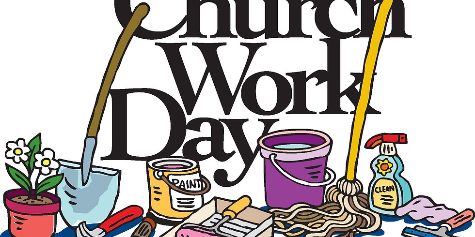 Trinity Church Work Day