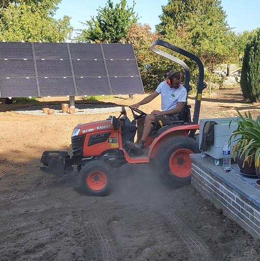 Travail du sol - micro tracteur Kubota