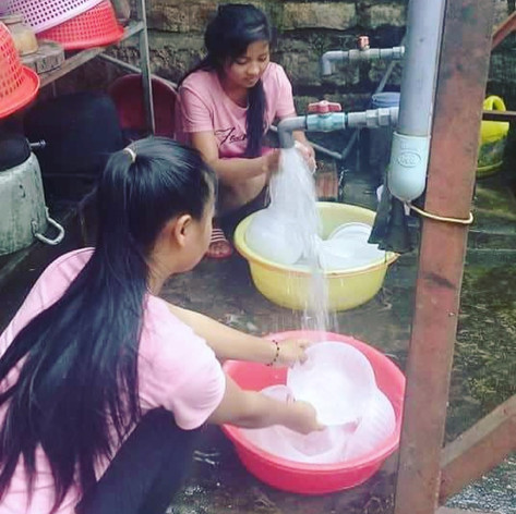 Girls of Dak To, Kon Tum Province, Central Highlands, Vietnam
