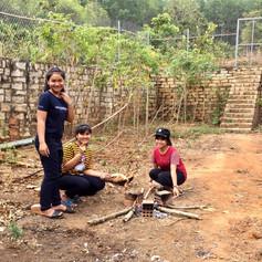 Girls @ Dak To Center, Kon Tum Province, Central Highlands, Vietnam