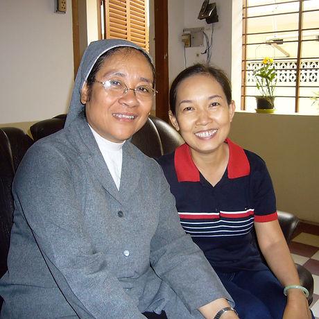 Sister MarieHuu & Mrs. Bich