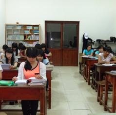 Class room, Lai Thieu Educational Center, HCMC, Vietnam