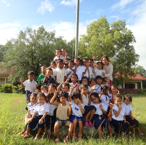 Children of Kok Chor, Cambodia