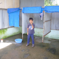 Showers @ Lai Thieu Educational Center before the AKfC donation