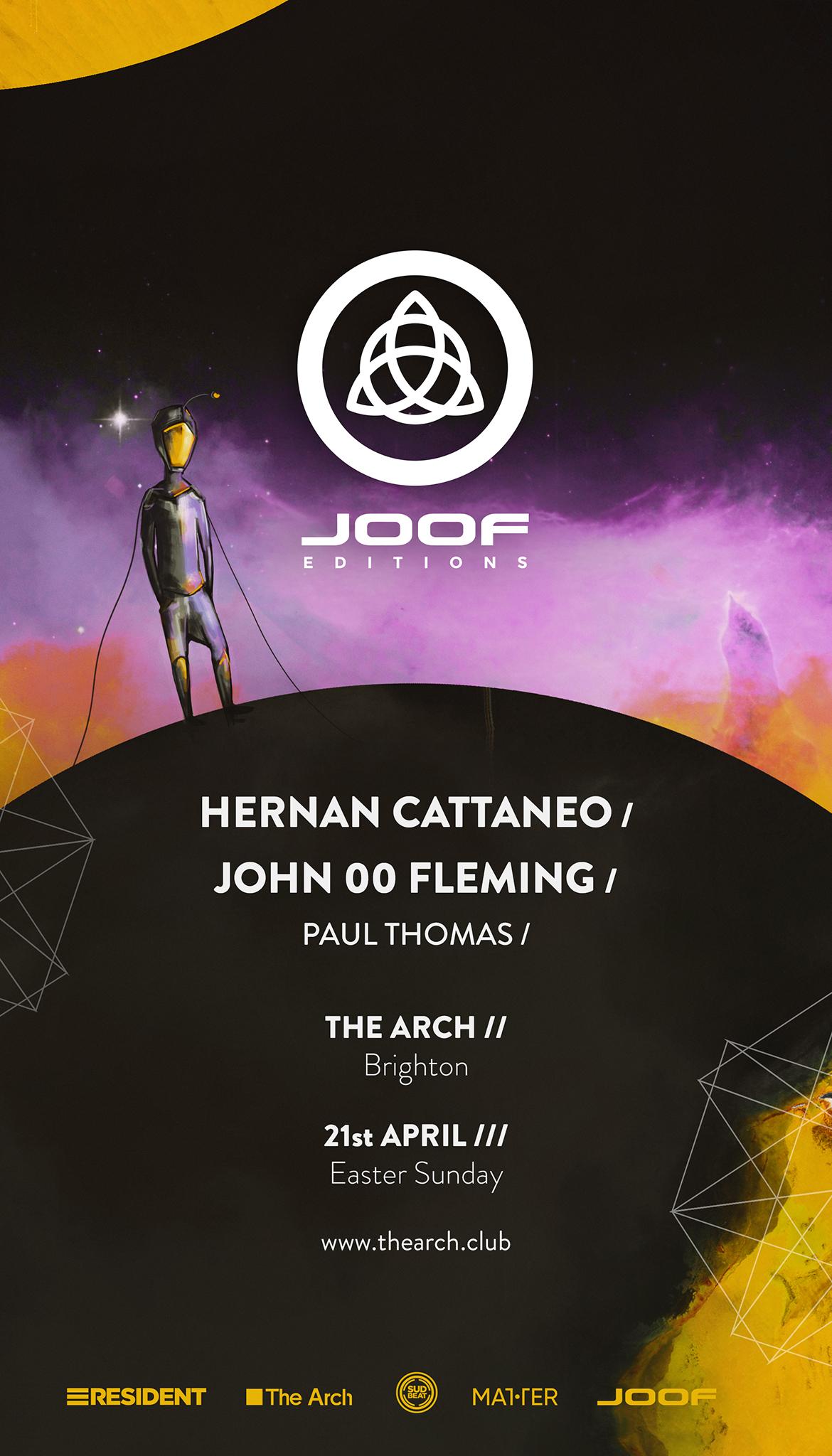 Hernan Cattaneo / JOOF Editions