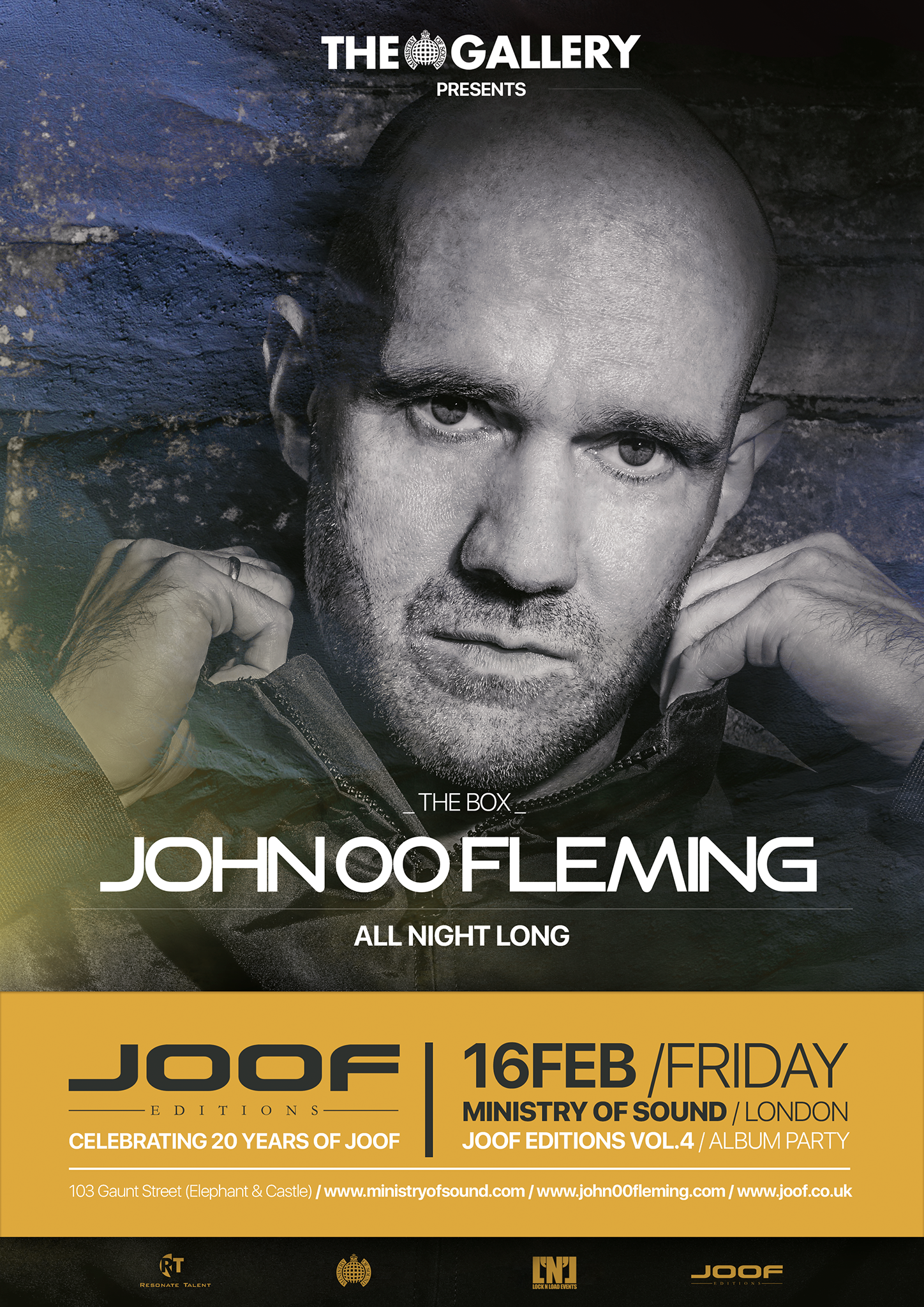 JOOF at Ministry of Sound