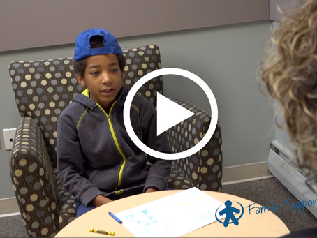 New work for the Children's Advocacy Center of Delaware