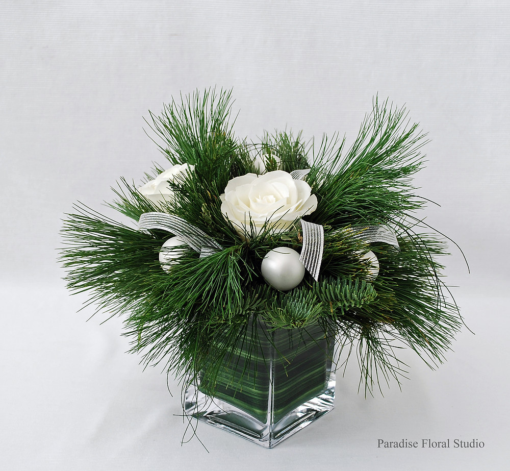 Small white arrangement