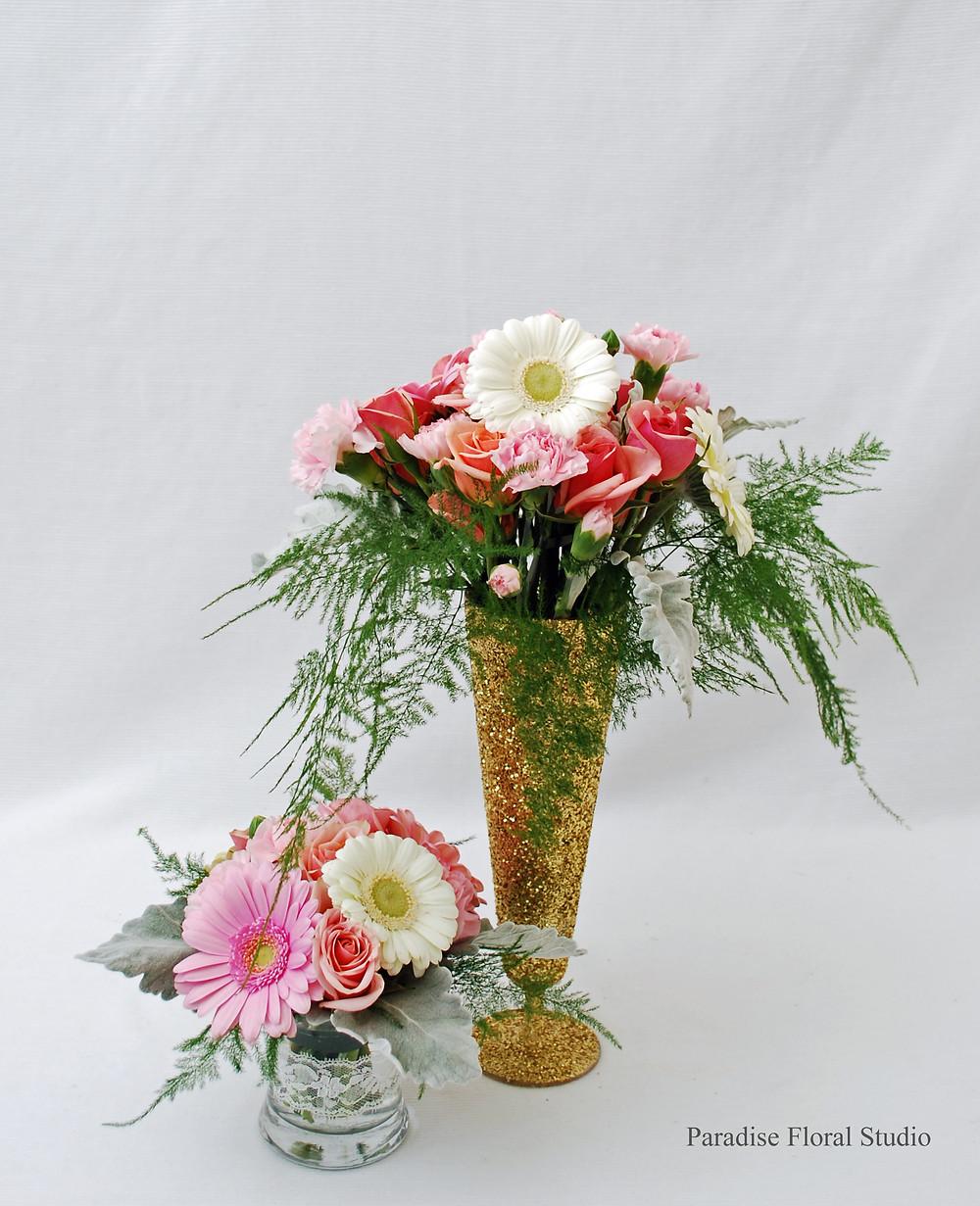 Christening vases