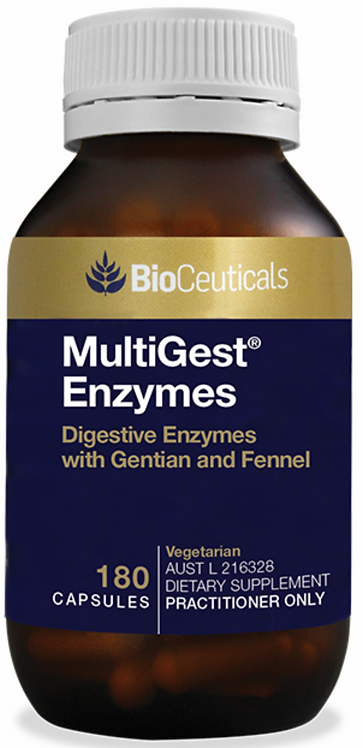 MultiGest Enzymes - BioCeuticals