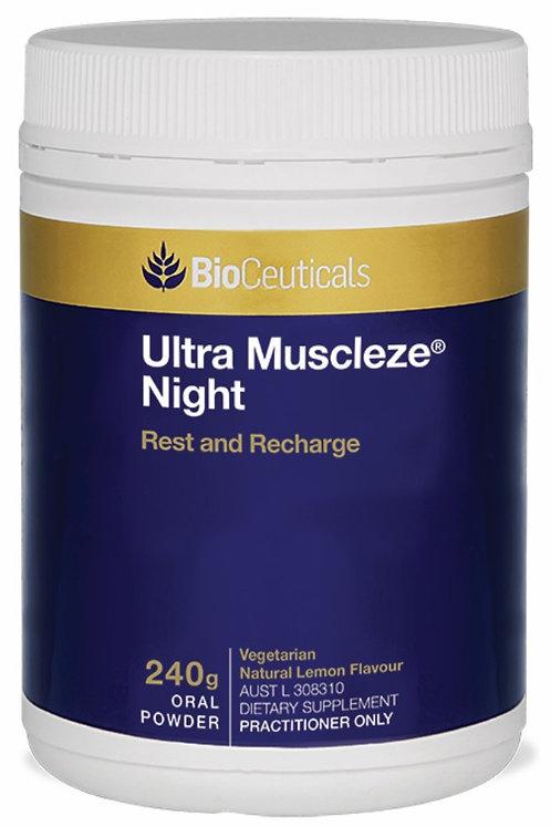 Ultra Muscleze Night - BioCeuticals