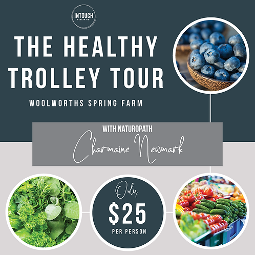 Healthy Trolley Tour - Saturday 9th May 2pm