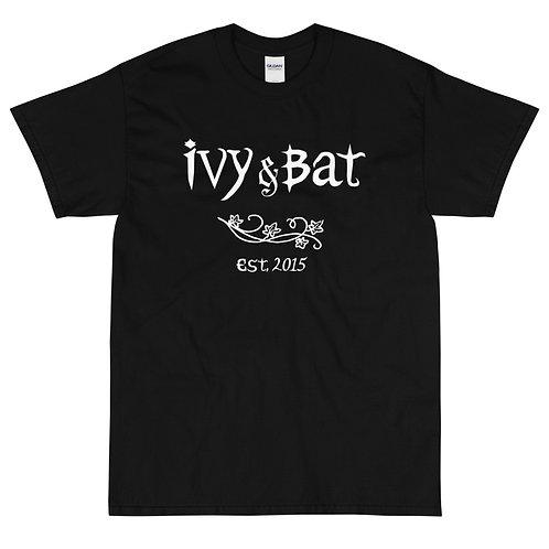Ivy and Bat Vintage Style Logo Short Sleeve T-Shirt