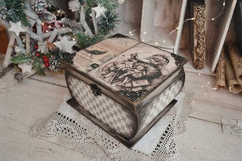 Vintage Christmas Box Workshop (RECORDING)