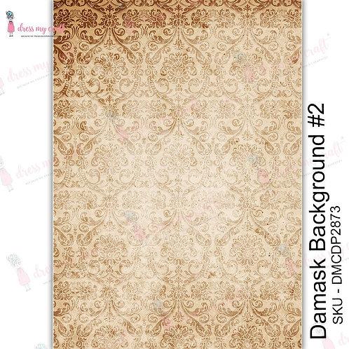 Damask Background No 2 - Transfer Me by Dress My Craft