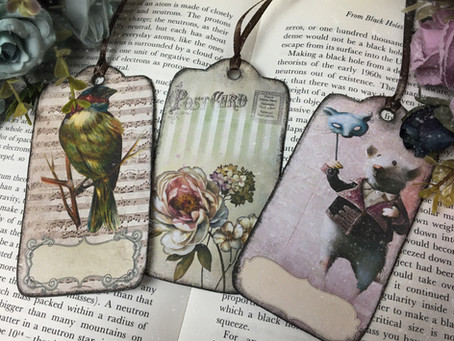 Vintage Junk Tags/Bookmarks