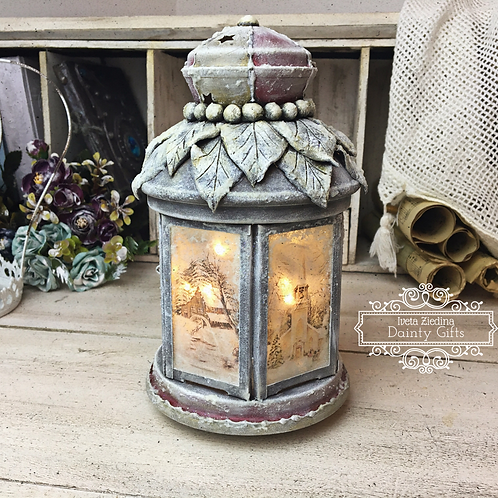 Decoupage Lantern Workshop (RECORDING)
