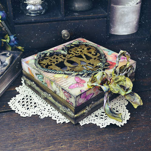 Vintage Jewellery/Keepsake Box