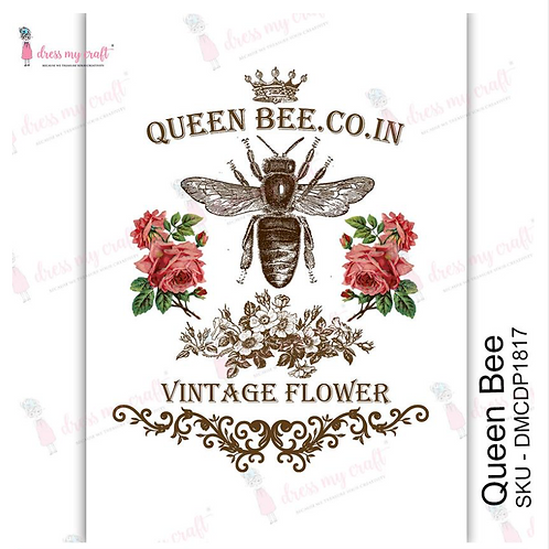 Queen Bee - Transfer Me by Dress My Craft